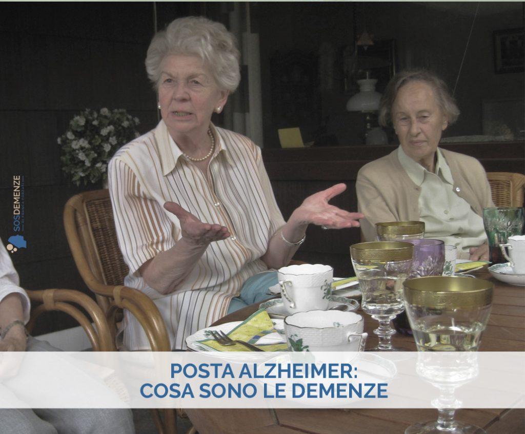Posta Alzheimer: cosa sono le demenze