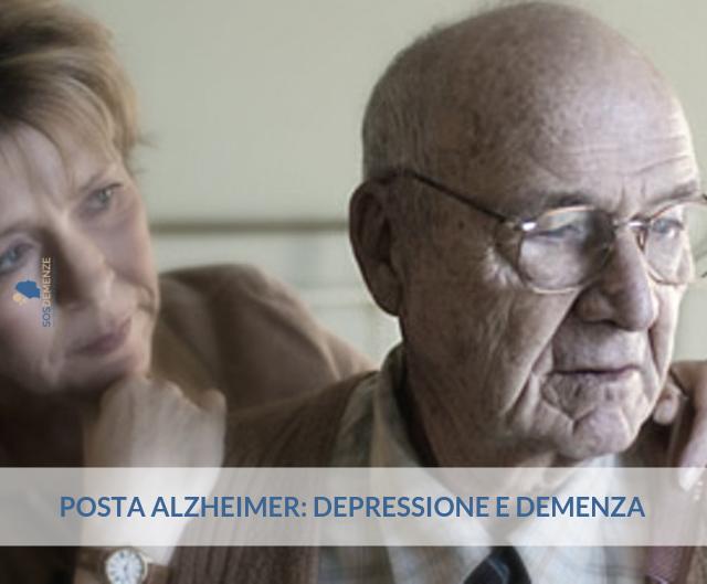 Posta Alzheimer: depressione e demenza